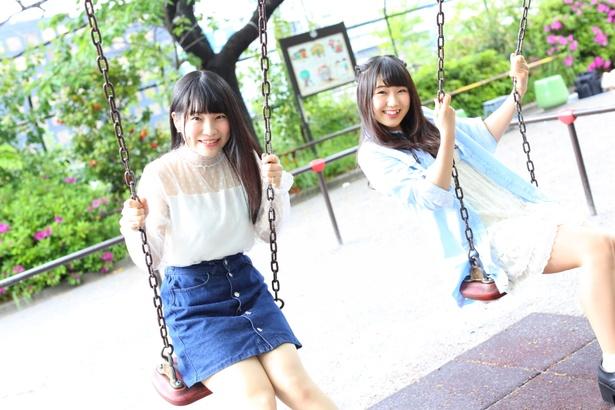 【写真を見る】新宿靖菜、板橋美羽(写真左より)