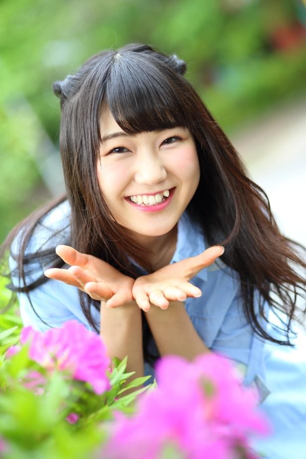 アイドルチーム・東京23区ガールズのメンバーとして活動する板橋美羽