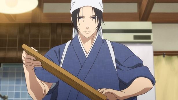 「鹿楓堂よついろ日和」第4話のカットが到着。天丼を食べるために…!