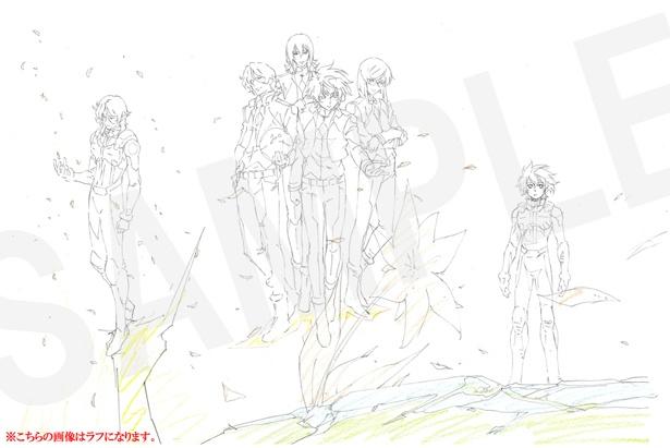 「機動戦士ガンダム00」究極のイラスト&設定集が予約受付中!通販限定特典のラフイラストも公開!