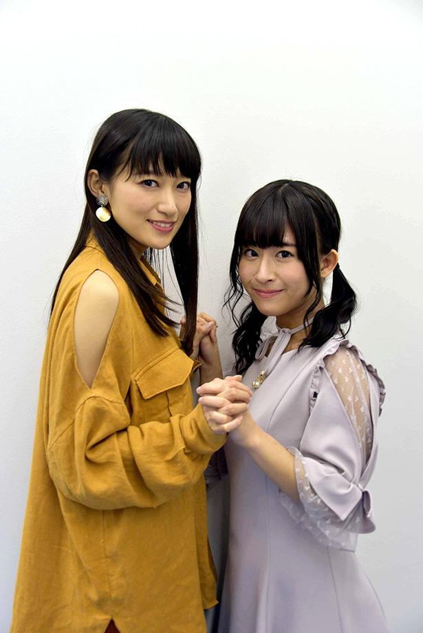 「魔法少女サイト」大野柚布子&茜屋日海夏インタビュー!【前編】 2人の「不幸だねー」とは?