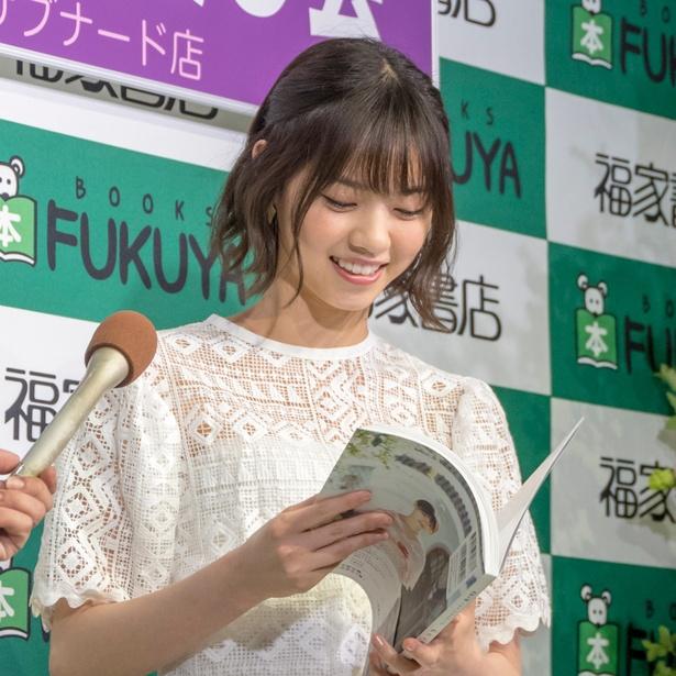 西野七瀬1stフォトブック「わたしのこと」(集英社)刊行記念お渡し会より