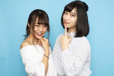 週刊プレイボーイで共演したことがある倉持由香と島崎由莉香