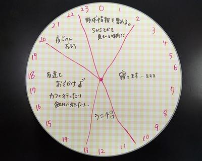 島崎由莉香のオフの過ごしかた