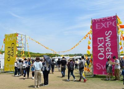 カレーを食べたら甘いものを・・・SWEETS EXPOも同時開催!