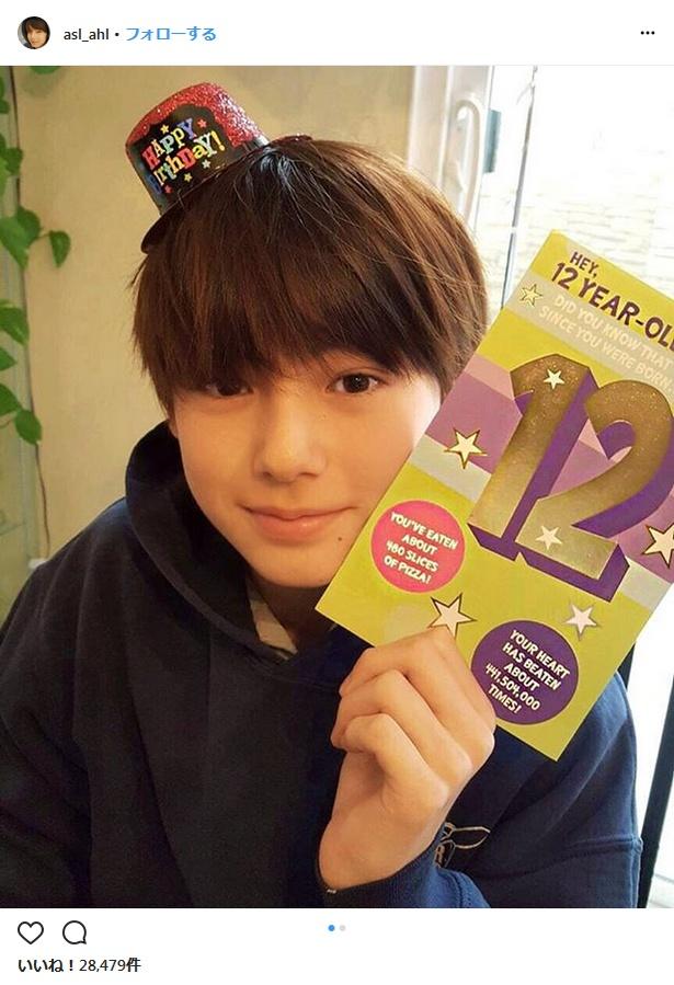 12歳となった美少年・翔くん