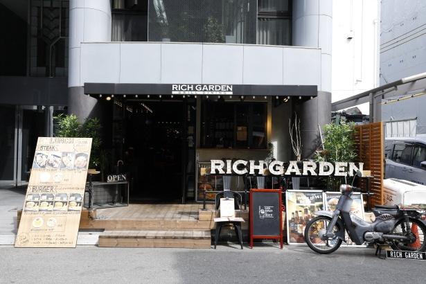 オフィス街にオープンした「西本町店」の外観