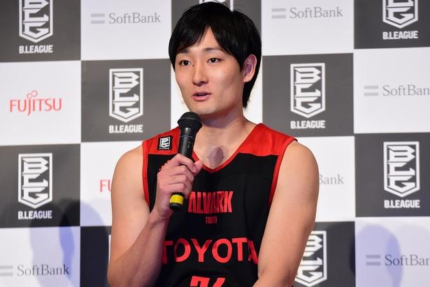 アルバルク東京・田中大貴選手( #24)