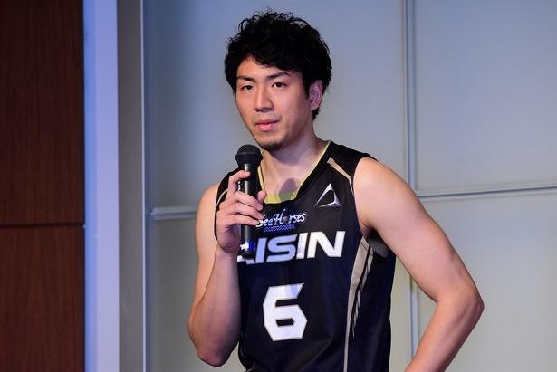シーホース三河・比江島慎選手(#6)