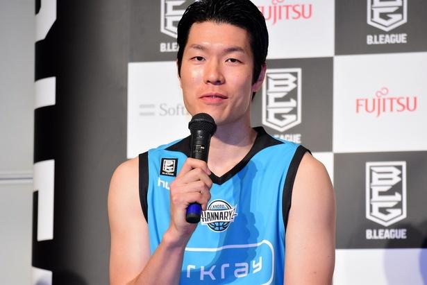 内海慎吾選手(京都ハンナリーズ #33)
