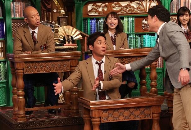 【写真を見る】長嶋一茂の「実家に竹やぶや、桜の木も2本ぐらいありました」発言にスタジオ騒然!