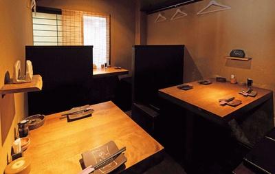 2階にはテーブル席や掘りごたつ式の席も/魚屋ひでぞう 天満橋店