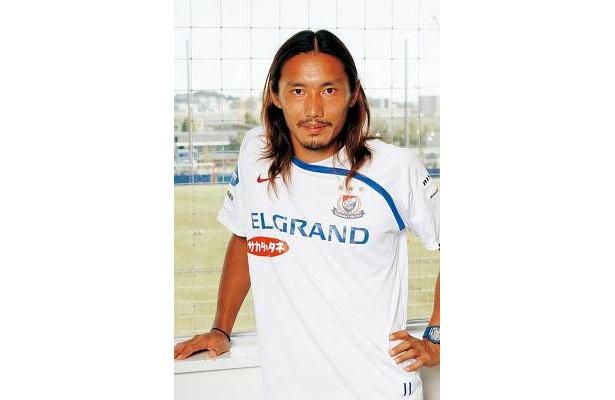 第1回目の登場は横浜F・マリノスの坂田大輔選手でした