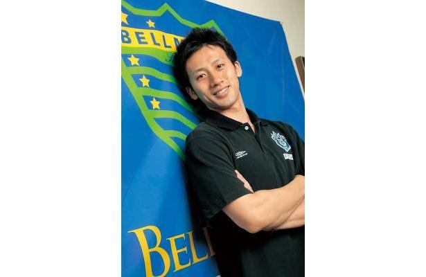 フットサル湘南ベルマレーのピボ、岩岡慶宜選手