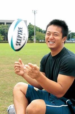 大学ラグビーの雄、関東学院大学主将の土佐誠選手