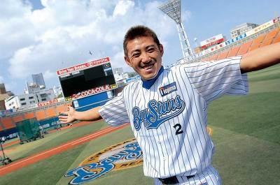 セリーグ首位打者となった横浜ベイスターズの内川聖一選手