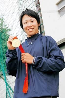 祝!金メダル。オリンピック決勝でのホームランも記憶に新しい山田恵里選手