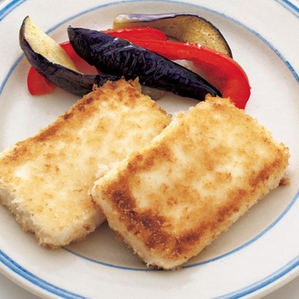 「塩麹豆腐カツ」