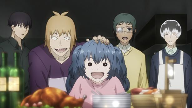 「東京喰種トーキョーグール:re」第7話の先行カットが到着。ハイセがホームパーティを企画するが…!?