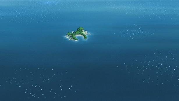 「ひそねとまそたん」第5話の先行カットが到着。Dパイたちが無人島に!?