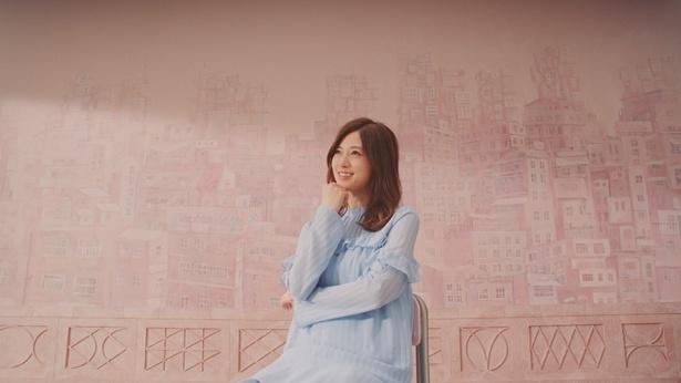 「カゴメ ラブレ」の新CMに出演する乃木坂46・白石麻衣