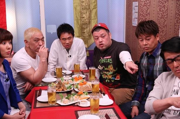 【写真を見る】松本人志が太鼓判を押した、くっきーの白塗り顔とは?