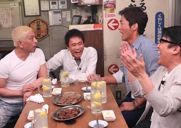 松本に突っ込まれるほどの、長嶋のぶっとびトークの内容とは?