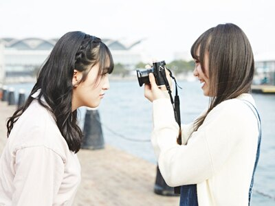 阿紀「芽瑠ちゃん、近い!笑」