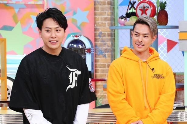 「所さんのそこんトコロ!」にゲスト出演した(左から)山下健二郎、今市隆二