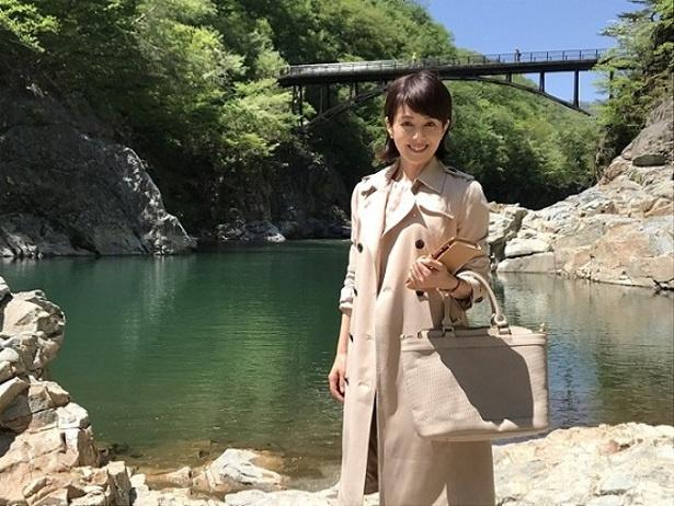 沢口靖子が「鉄道捜査官シリーズ」への思いを語った