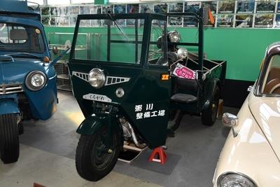 昭和29年式 日本内燃機・くろがねオート3輪