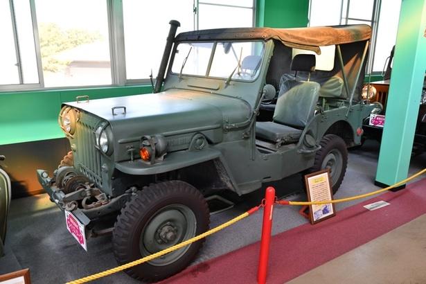 昭和36年式 三菱・ウイリスジープ
