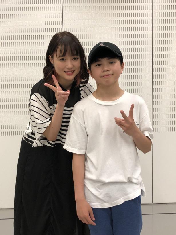 「ミュージックステーション」でコラボレーションする大原櫻子とTAKERU