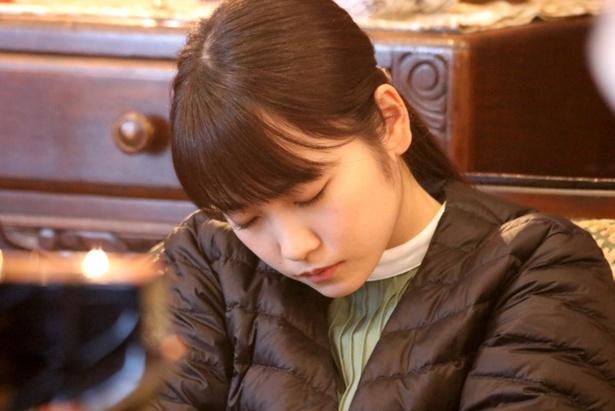 川栄李奈の寝顔をさらにアップ!