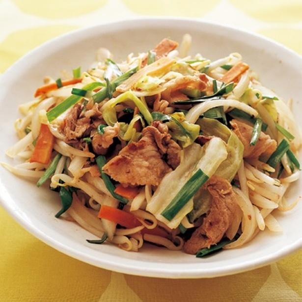 シャキシャキ野菜が絶品の「ダンドリ野菜炒め」