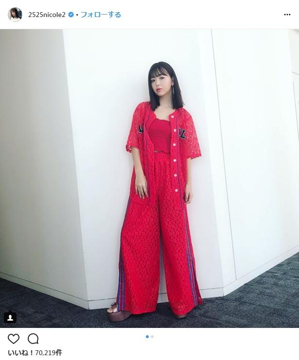 【写真を見る】ファッションビジネスも手掛ける藤田ニコル