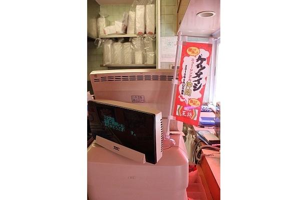 【画像】店内には、ケツメイシコラボのポスターなども!(そのほか、定食の詳細はコチラ!)