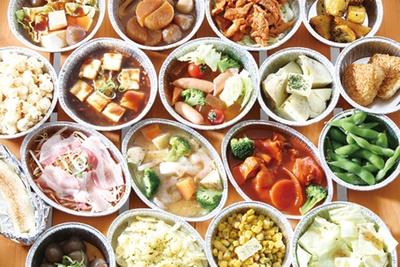 野菜やコーンバター、焼きおにぎりのほか、なごやめしなどのつまみも豊富にラインナップ