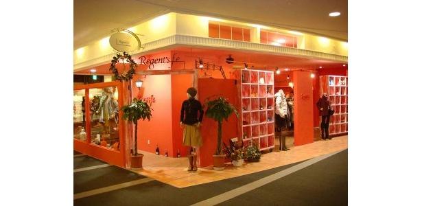 Regent's f.e.。オリジナルブランドを中心に、スタッフが気に入ったブランドのセレクトもそろうレディスファッションのショップ