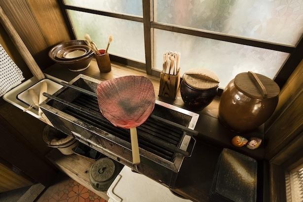 仙吉(中村雅俊)が使っている焼き台