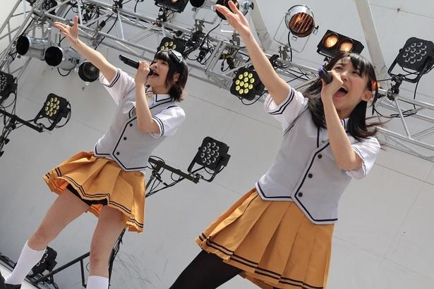 【写真を見る】徳島県で開催されたマチ★アソビで躍動するライブレボルト