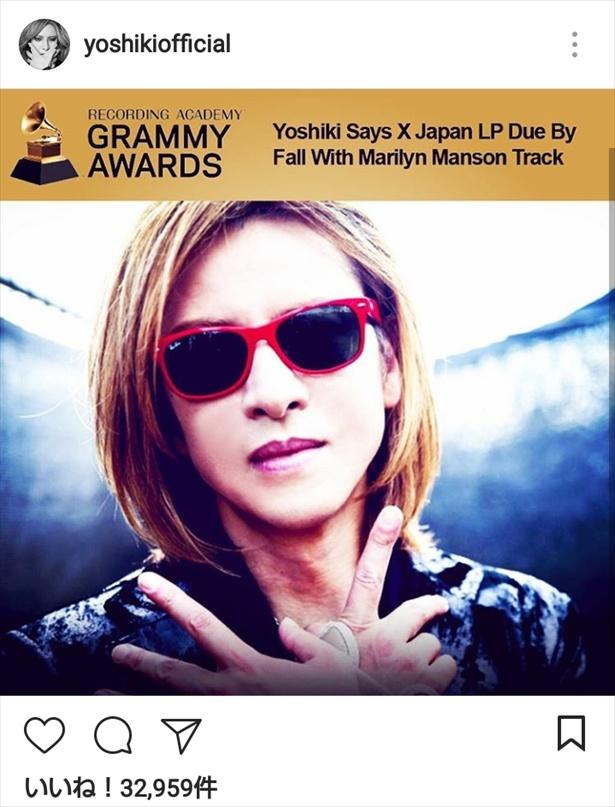 22年ぶりのX JAPAN新アルバムリリースの計画を明かしたYOSHIKI