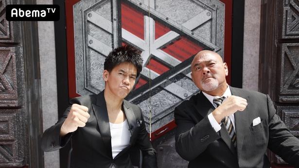 武井壮(左)、武藤敬司(右)の体力自慢2人からも厳しい面接が…