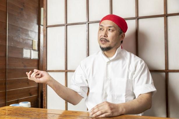 「中華はあくまで料理のベース。既存の概念に縛られることなく、これからも自分の個性が出る料理を作っていきたいです」