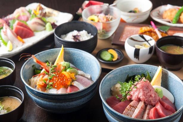 その日獲れた鮮魚を使った料理を贅沢に味わおう!※写真はイメージ
