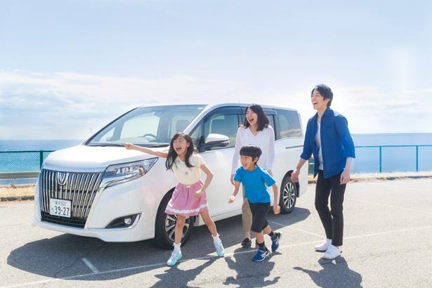 家族で楽しめる夏のドライブツアー。車は3種類からセレクトできる(画像はイメージ)