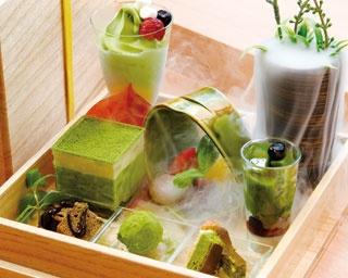 「ちゃせん玉手箱スイーツ」(1404円)/焼き窯お抹茶スイーツ専門店 茶筅