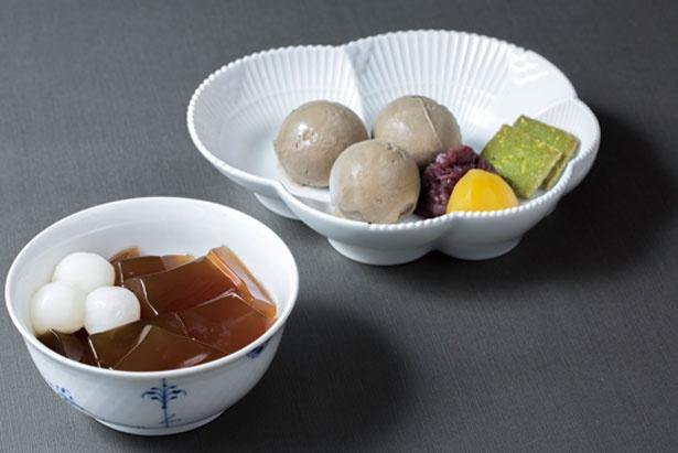 「生茶ゼリイ(ほうじ茶)」(1051円)/中村藤吉本店 京都駅店