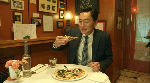 【写真を見る】5月18日(金)放送では、五郎がピザを堪能!