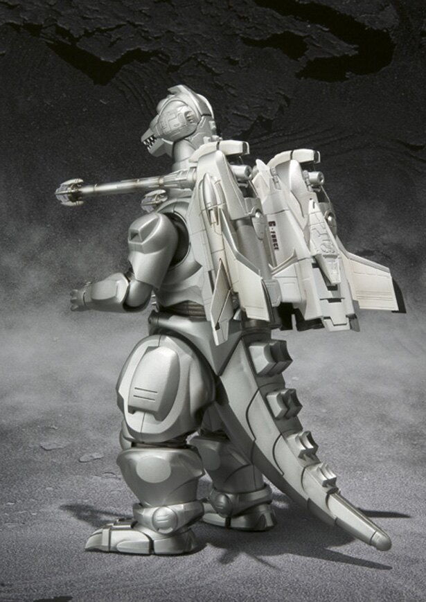 後ろ姿はこんな感じ(S.H.MonsterArts UX-01-92 ガルーダ & メカゴジラ対応エフェクト)